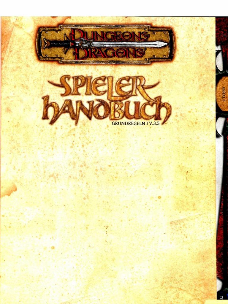 D&D Spielerhandbuch Pdf