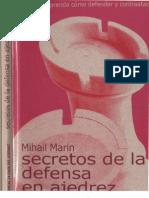 Los Secretos de La Defensa en Ajedrez - M Marin BAD