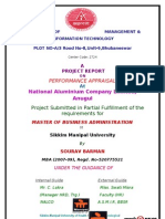 For College Project Report on Performance Appraisal in Nalco,