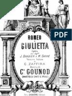 Romeo Et Juliet Score