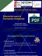 FORMACIÓN AMBIENTAL