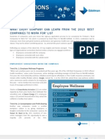 What Every Company Can Learn From The 2013 Best Companies to Work For List