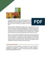 Educacion Infantil Inicial Preescolar