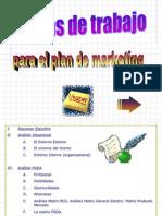 Plan de Mark.