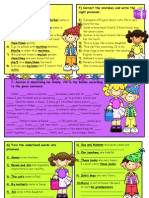 Islcollective Worksheets Beginner Prea1 Elementary a1 Elementary School High School Writ Pronouns2 232054e7ca4f029e300 80977109