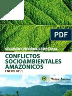 2doinformesemestral conflictossociambientales amazonicos 2013