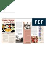 Cocina Peruana en El Paladar Del Mundo