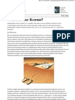 Toby Lester What is the Koran the Atlantic Monthly