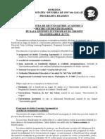Procedura de Recunoasterea Academica