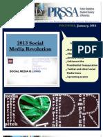 PRSSA January 2013 Newsletter