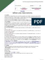 estrofas de verso español