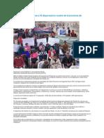 IESS entregó medicinas a 45 dispensarios rurales de la provincia de Chimborazo