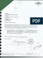 Predictamen de Ley de atención y protección al migrante nicarag
