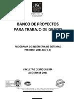 Banco de Proyectos Ingenieria de Sistemas 2011-B (v1_0)