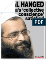 Afzal Guru Hanged