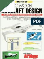 RC Model Aircraft Design