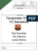 Sesiones FCB Pep Tito