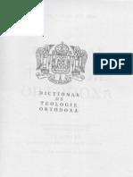 (Ion Bria) Dictionar de Teologie Ortodoxa