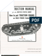 Halftrack Track Chains Instructions