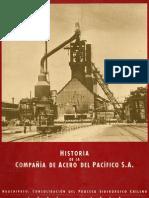 HISTORIA DE LA COMPAÑIA DE ACERO DEL PACIFICO. HUACHIPATO