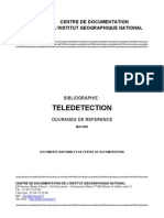 Bibliographie Ref Teledetection