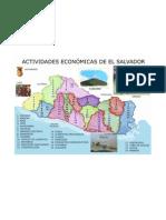 Actividad Economica de El Salvador