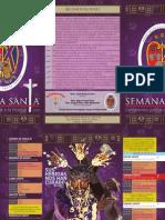 Programa de la Basílica Santa Teresa - 2013