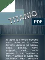 Titanio Y Tungsteno