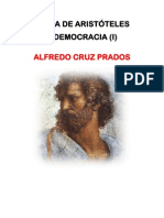 La Politica de Aristoteles y La Democracia I, Cruz Prados
