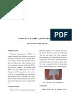 Mayank Pushkar. Congenital Talipes Equinovarus (CTEV) SRJI Vol- 2, Issue- 1, Year- 2013