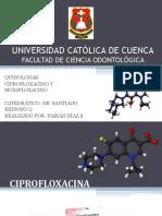 trabajocirugia_ciprofloxacina - moxifloxacina