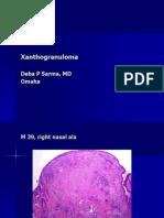 Xanthogranuloma. M 39, Right Right Ala