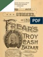 Frear's Troy Cash Bazaar 1894 Catalog