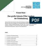 Lexikon Der Entstaubung Intensiv-Filter