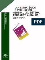 Plan Estratégico de Evaluación Junta de Andalucia