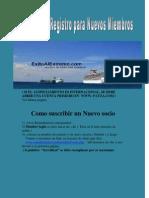 Guia Para Llenar Formulario e Informacion Para Nuevos Miembros