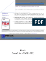 SUMZERO Quantitative Analysis 2013.01.18