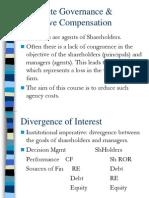 Corporate Governance & Executive Compensation