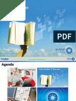 Sparking am e-book revolution through a self serve model.