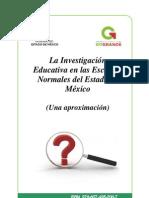 La investigación educativa en las Escuelas Normales