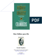 Oswald Chambers - Meu Melhor Para Ele