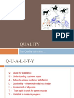 Session II Introduction to Quality