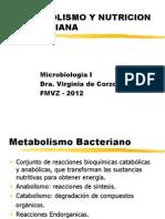 Metabolismo y Nutricion Bacterias 2012