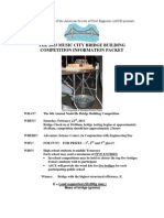 Nashville ASCE 2013 Bridge Competition Flyer