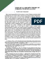 A re-examination of al-Ash'arī's theory of kasb according to Kitab al-Luma'.pdf