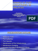 Maintenance of Port Infrastructure – Malaysian Port Authorities