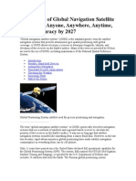 The Future of Global Navigation Satellite Systems