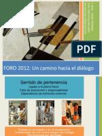 Ponencia foro20121