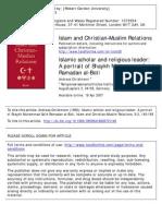 Islamic scholar and religious leader- A portrait of Shaykh Muhammad Sa'id Ramadan al‐Būti.pdf