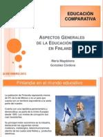 Educación Comparada Finlandia